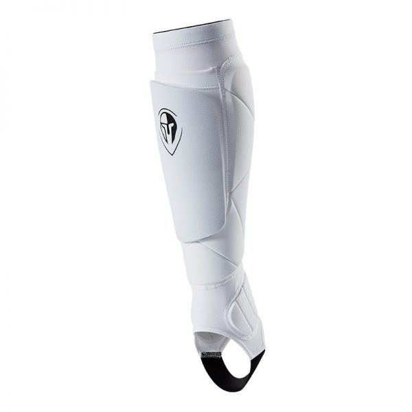 Stealth Shin Guard Soccer White